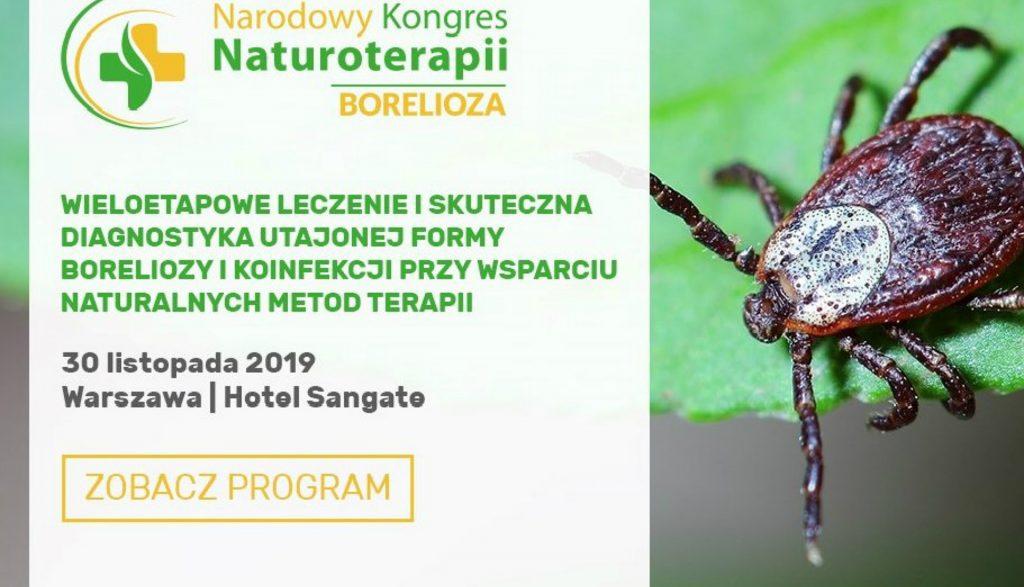 Kongres o Boreliozie Ulotka - Apiterapie.pl